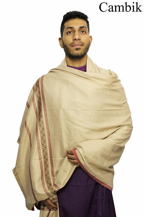 Woollen Warm Pashmina Shawls Premium Quality Lohi 7.9 X 4 Feet