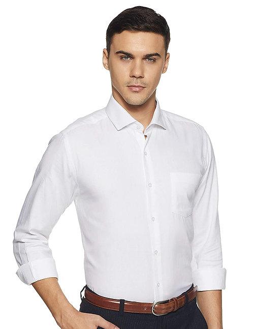 Men's Pure Cotton Full Sleeve Classic Collar Regular fit Shirt