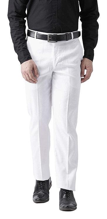 Men's Premium Cotton Regular Fit Formal Trouser Pant