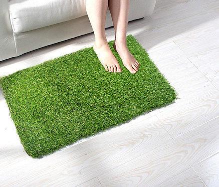 Artificial Green Grass 52mm Heaviest Quality Doormat- 16 X 24 Inch
