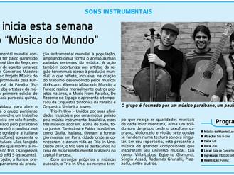 """Projeto """"Música do Mundo"""""""