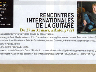Rencontres Internationales de la guitare