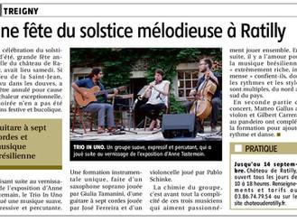 Une fête du solstice mélodieuse à Ratilly