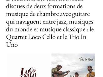 Le Quatuor Loco Cello et le Trio In Uno