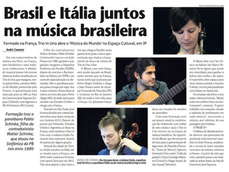 Brasil e Itália juntos na música brasileira