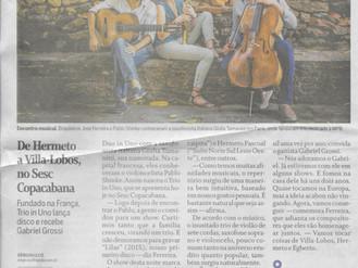 O Globo : De Hermeto a Villa-Lobos, no Sesc Copacabana
