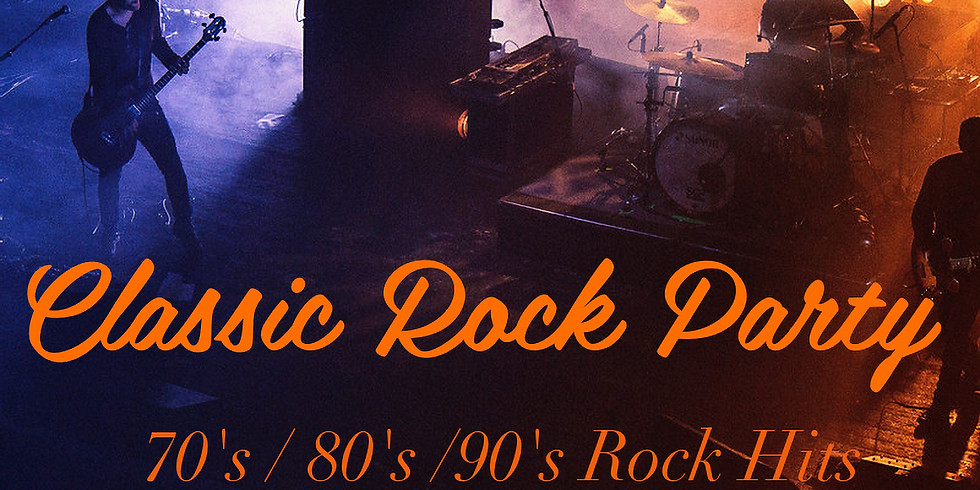 Memorial Day Weekend Classic Rock Party