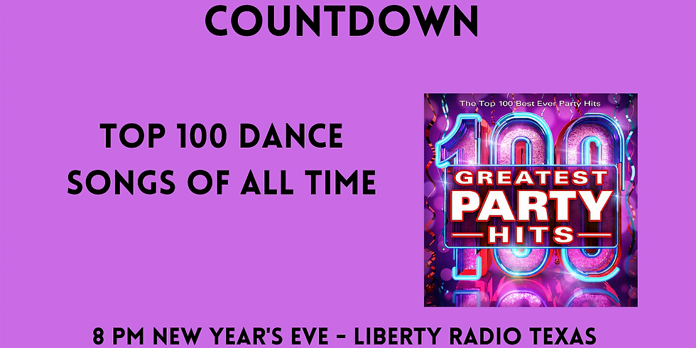 New Year's Day Replay - The Top 100 Dance Songs Of All Time