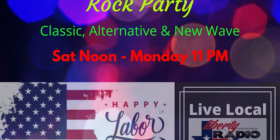 Labor Day Weekend Rock Party