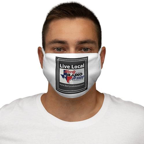 Snug-Fit Polyester Face Mask Logo