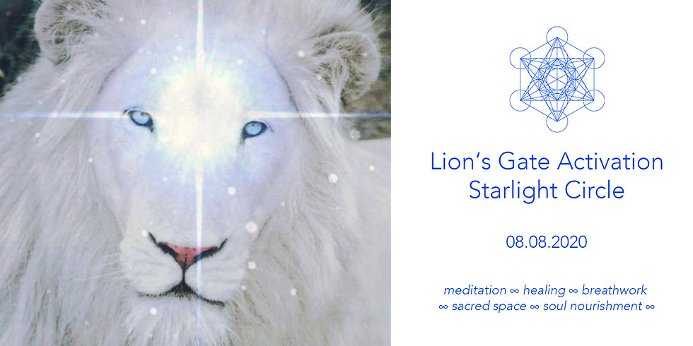 ⊹ Lions Gate Activation ⊹ Starlight Circle  ⊹