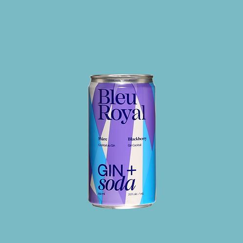 BleuRoyal Gin + Soda Mûre