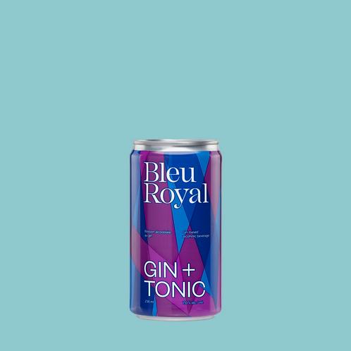 BleuRoyal Gin + Tonic