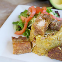 Fried Pork Chunk Mofongo
