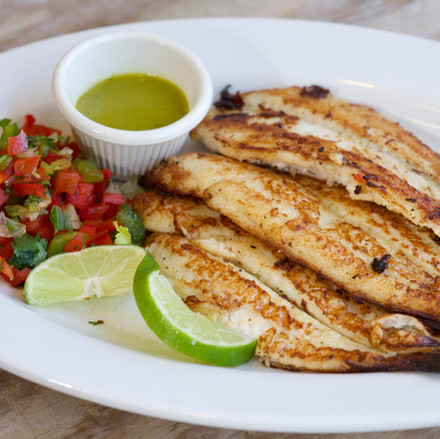 Fried or Pan-Seared Fish Fillet