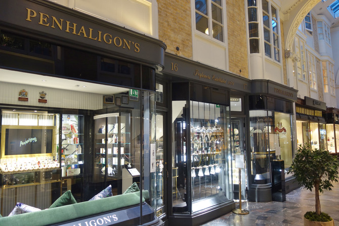 Burlington Arcade : Luxury Lifestyle