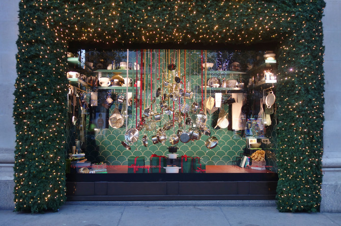 Selfridges : Christmas Trees