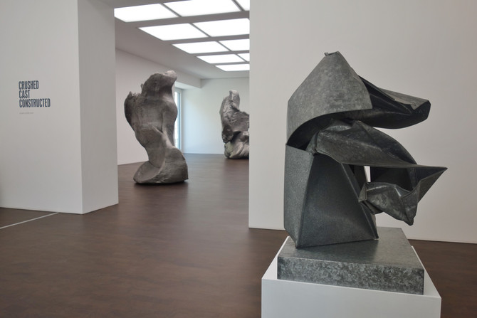 Crushed, Cast, Constructed : Gagosian Sculpture