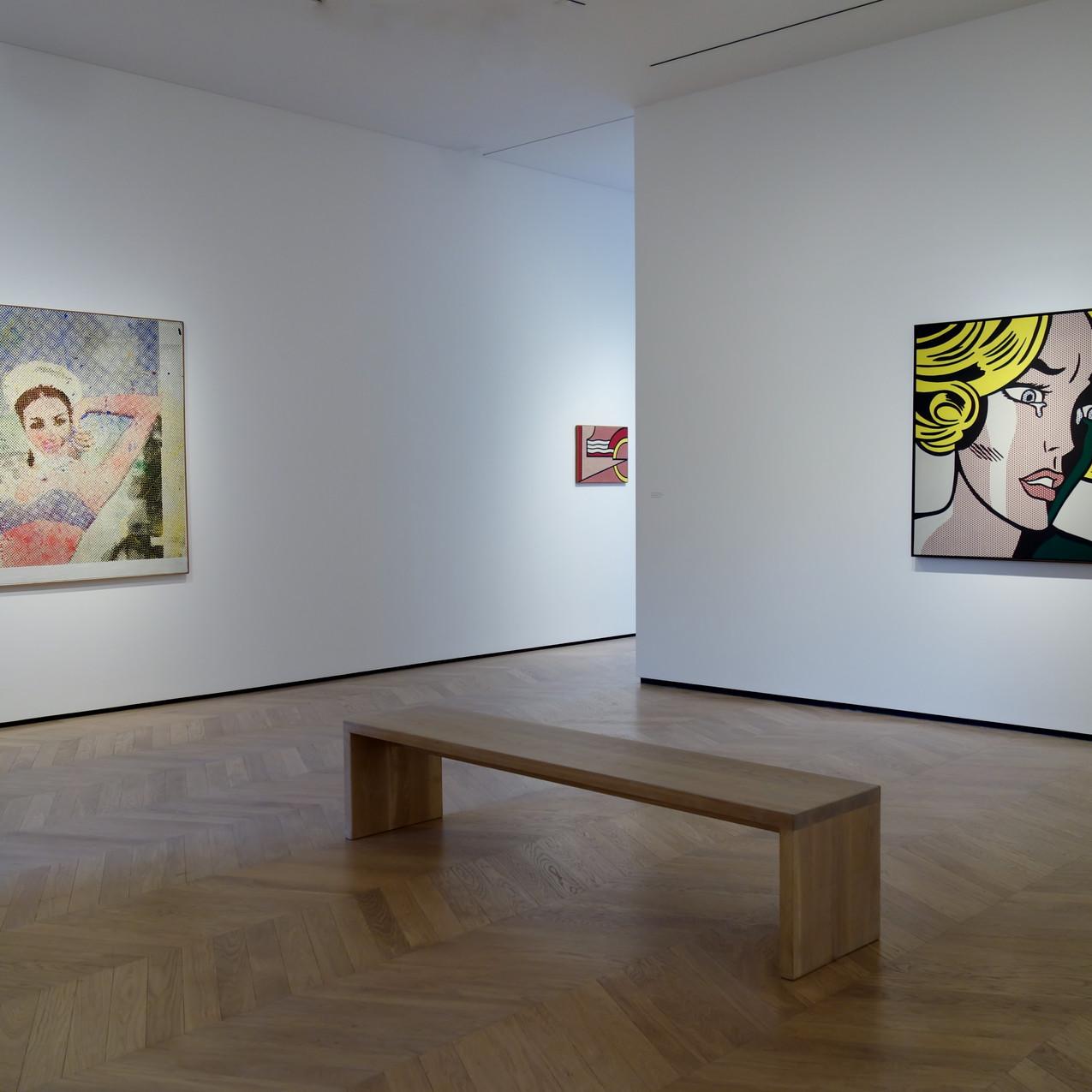 Polke, Lichtenstein, Laing