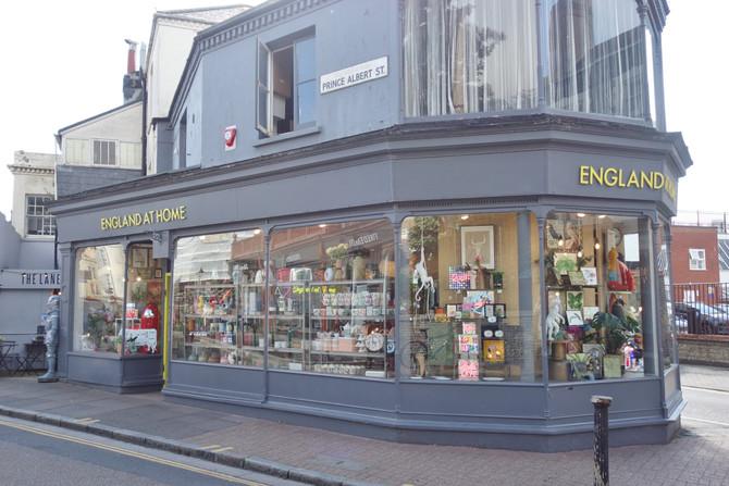 The Brighton Lanes : Independent Seaside