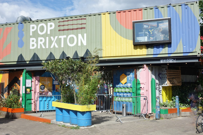 Creative Containers : Pop Brixton