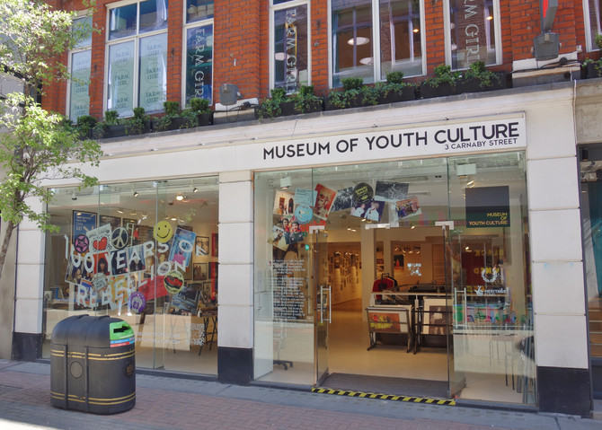 Museum of Youth Culture : Growing Up in Britain