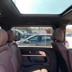 Van Mercedes v class con tetto panoramico