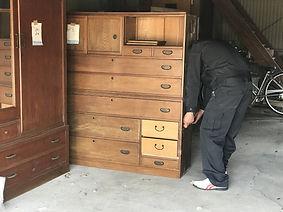 家具搬出のイメージ