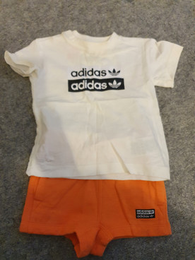 Adidas set 9-12m