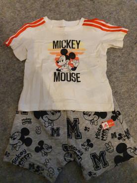 Mickey Mouse Adidas set 6-9m