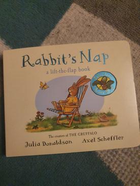 Rabbits Nap book