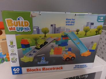 Blocks racetrack