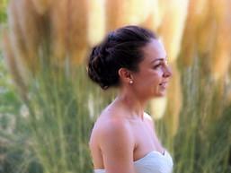Bride in the meadow