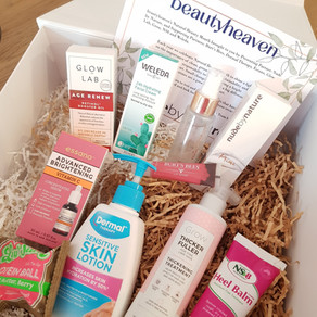 Beautyheaven Natural Beauty Month 2021- beauty box trial and review