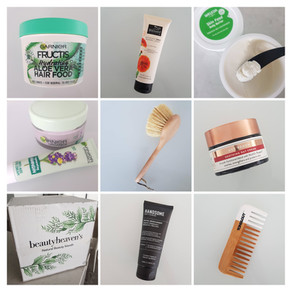 Beautyheaven Natural Beauty Month - beauty box trial and review