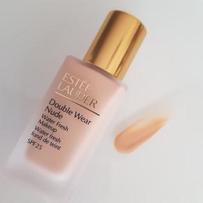 Review - Estée Lauder Double Wear Nude Water Fresh Makeup SPF 25