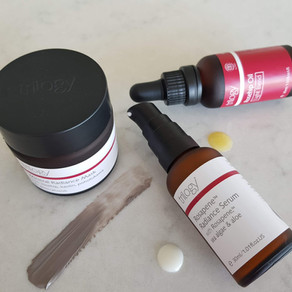Review - Trilogy Mineral Radiance Mask, Rosapene Serum & Rosehip Oil Light Blend