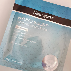 Review - Neutrogena Hydro Boost 100% Hydrogel Mask