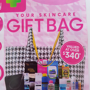 Priceline Skincare Goody Bag June-July 2016