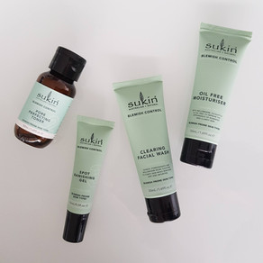 Review - Sukin blemish control