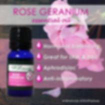 Rose Geranium Essential Oil fo skin