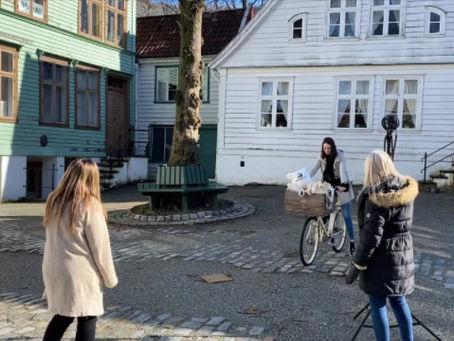 Photo shoot i Gamle Bergen