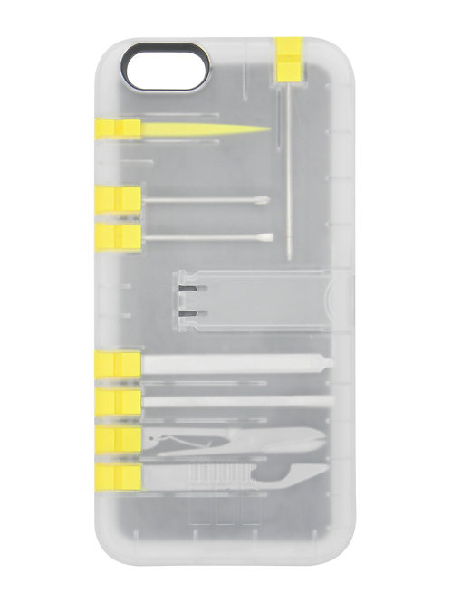 Multi-Tool Utility case - Clear case/Yellow tools