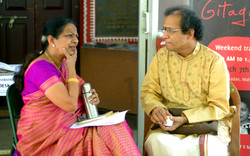with Shatavadhani Dr. R Ganesh