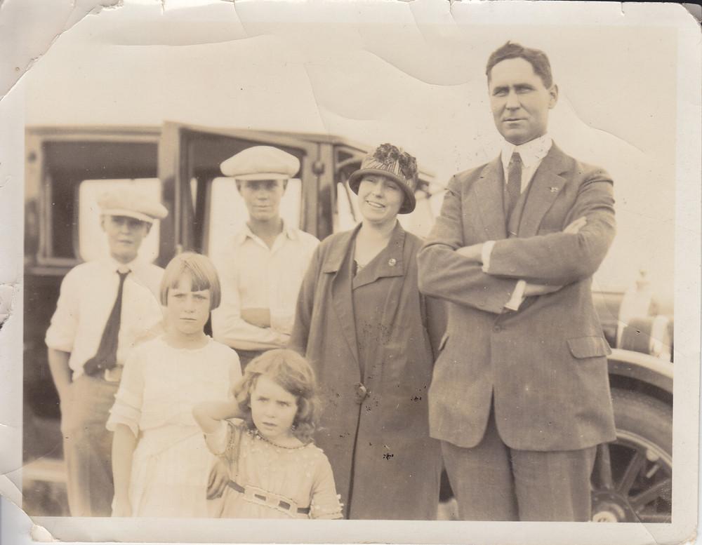 Atkinson Family, 1925, Idaho