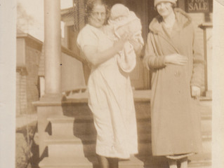 Mother, Marvin's Wife, & their babe, Donna Jeanne