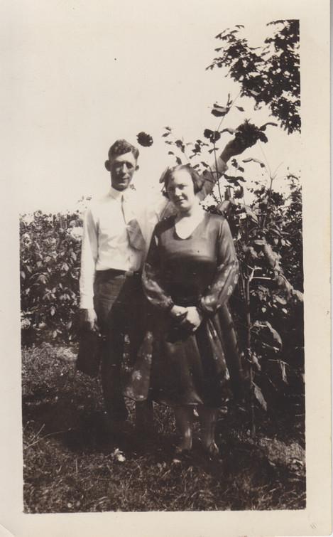 Will & Elva - 1926