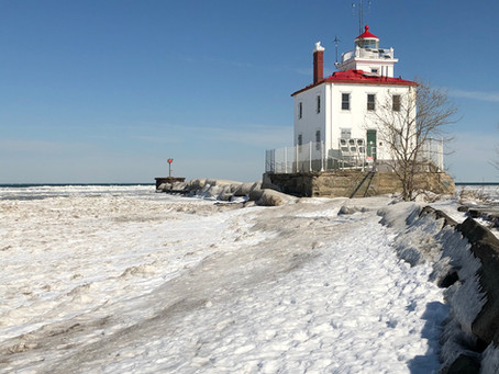 The Lighthouse in Winter