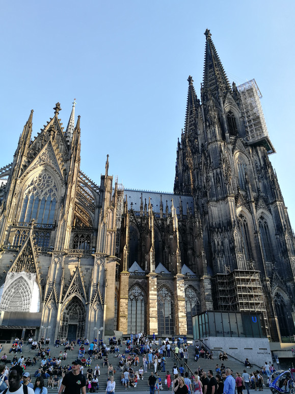 Cologne Cathedral, July 2018