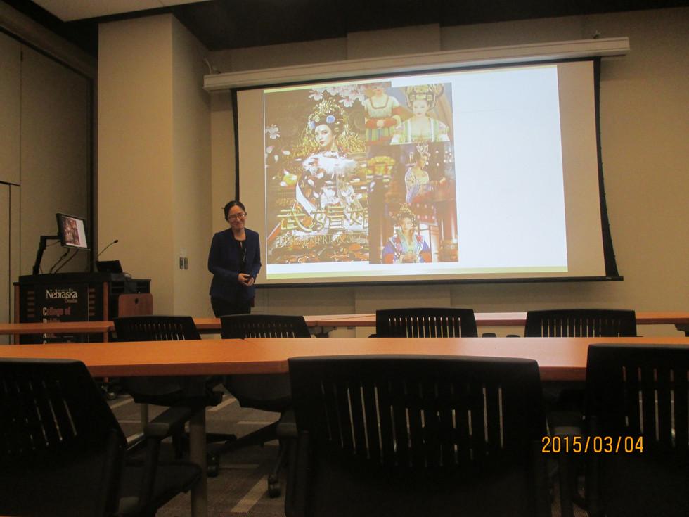 Final presentation of International Professional Development Program, March, 2015
